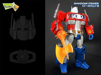Shadow Fisher SFM-02A Head and Matrix Kit for Hasbro MP-10 Convoy